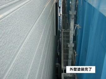 忠岡町の外壁塗装完了