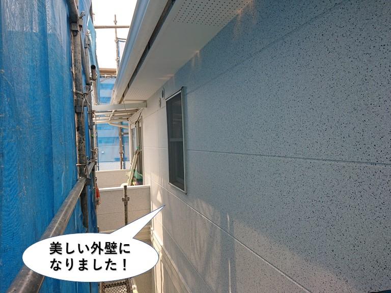 阪南市の塗装で美しい外壁になりました!