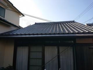 岸和田市の銅板屋根の葺き替え完了