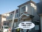 高石市の屋根・外壁塗装の現地調査