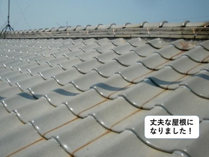和泉市の屋根を補強し丈夫な屋根になりました