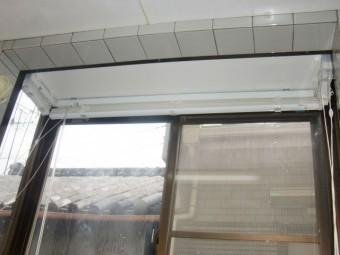 岸和田市紙屋町の出窓内部の雨漏り修理完了