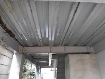 岸和田市春木の駐車スペースの高圧洗浄