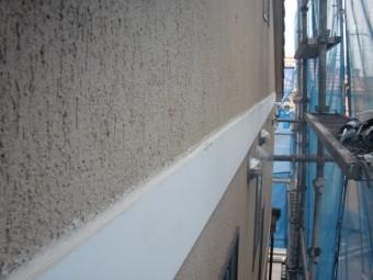 泉北郡忠岡町の外壁帯の防水完了