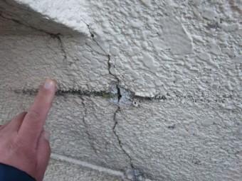 泉佐野市の外壁劣化状況