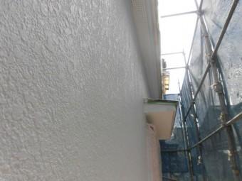 岸和田市吉井町の外壁下塗り完了
