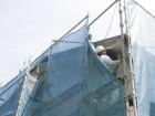 岸和田市土生町の破風板にガルバリウム鋼板を巻きます!