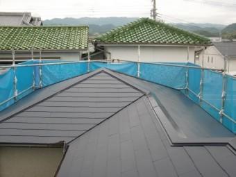 岸和田市の屋根塗装