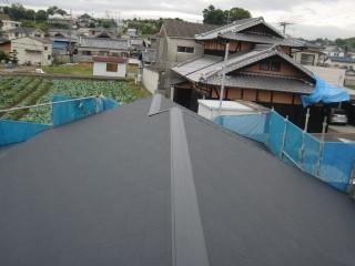岸和田市の屋根葺き替え後