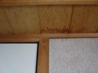 岸和田市土生町の和室の雨漏り