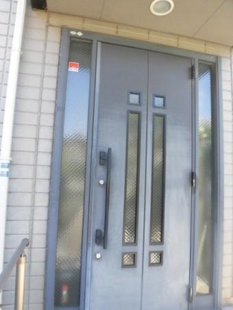 高石市の玄関ドア現調