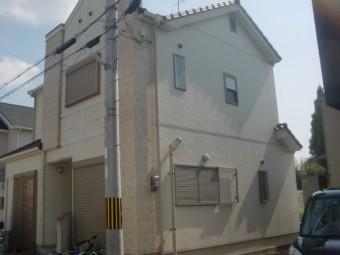 和泉市箕形町の雨樋修理