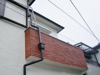 岸和田市の外壁のタイルも塗装