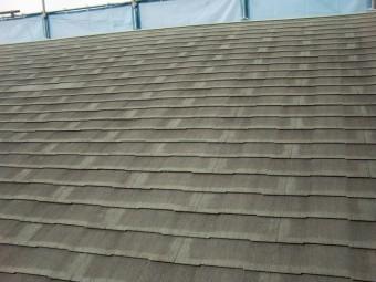 貝塚市のスレート屋根の現況