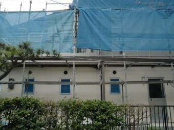 岸和田市天神山町の外壁塗装完了