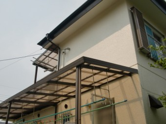 岸和田市天神山町の外壁・屋根塗装完了