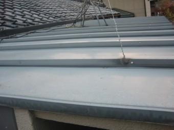 岸和田市内畑町のお風呂場の屋根かさ上げ工事