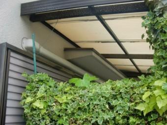 泉北郡忠岡町のテラス屋根張替え