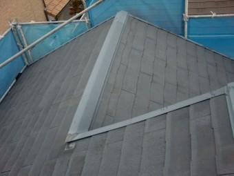 貝塚市のスレート瓦屋根の塗装