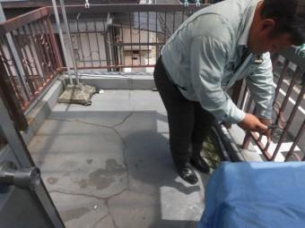 岸和田市の雨漏り調査