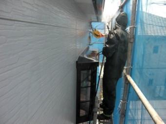 岸和田市三田町の軒天井から洗浄
