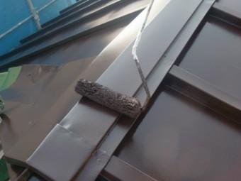 泉佐野市のトタン屋根の塗装