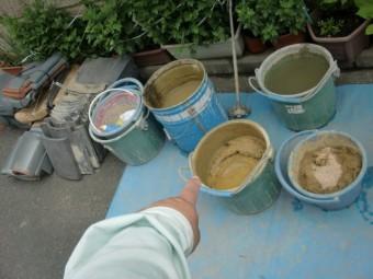 和泉市で使用する葺き土