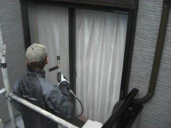 貝塚市の窓も洗浄