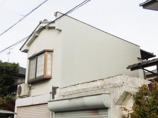 岸和田市上松町の外壁改修完了