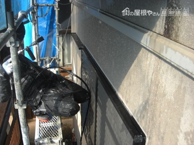 岸和田市のセキスイハイムの外壁塗装