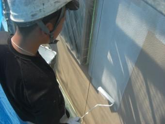 泉佐野市の外壁下塗り