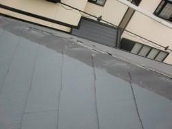 岸和田市の棟板金飛散