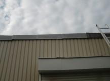 和泉市のガレージの屋根修理完了