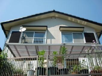 岸和田市天神山町の外壁塗装完成
