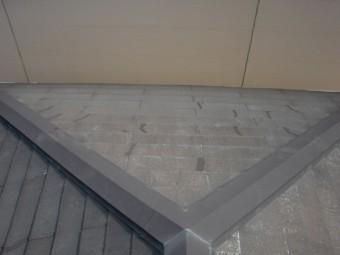 熊取町の修理後の屋根