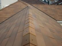 貝塚市の台風被害に遭った屋根の修理後