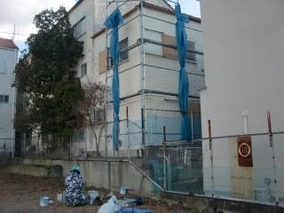 泉佐野市の外壁防水完了