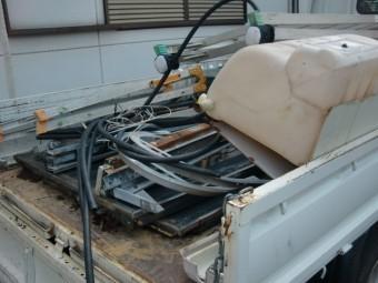岸和田市で撤去したソーラーパネル