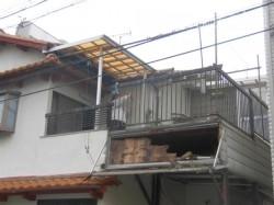 堺市中区の剥がれてしまったサイディング