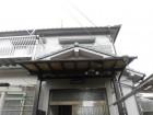 泉大津市の玄関ポーチの屋根リフォーム