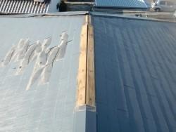 泉大津市のスレート屋根の修理前