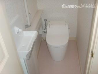 泉佐野市のトイレ入替