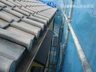 岸和田市の樋がきれいになりました