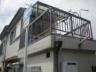 岸和田市下野町の雨漏り現地調査
