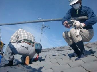 街の屋根やさん岸和田店の屋根工事
