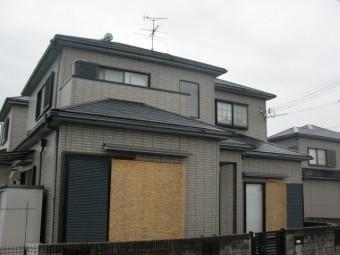 岸和田市尾生町の外壁・屋根塗装の現地調査
