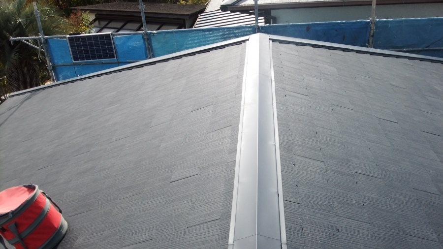 岸和田市の屋根葺き替え