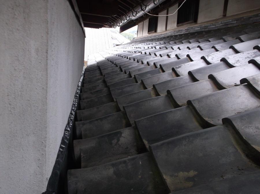 岸和田市の雨樋交換完了