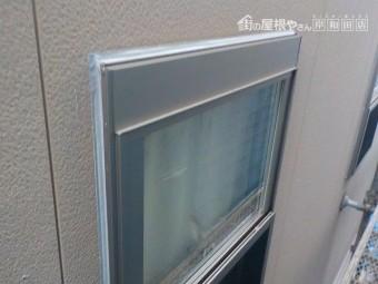 岸和田市の窓周りのシーリング打ち替え完了状況