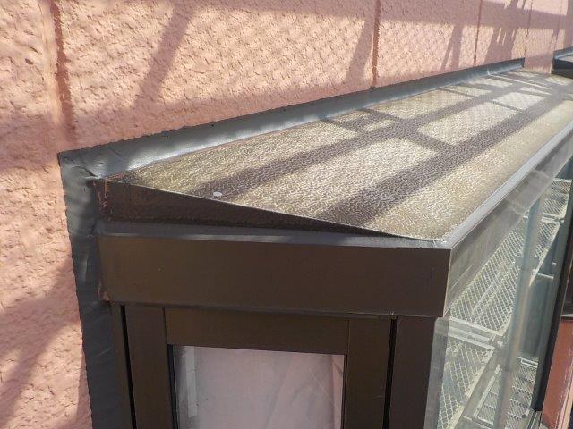 泉佐野市の出窓の雨漏り修理後
